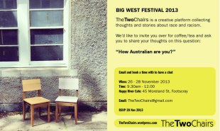 "Invite - ""The Two Chairs"" at The Big West Festival 2013"